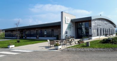 The imageis of the main building at Hael Mon, this is where Anglesey sea salt is manufactured