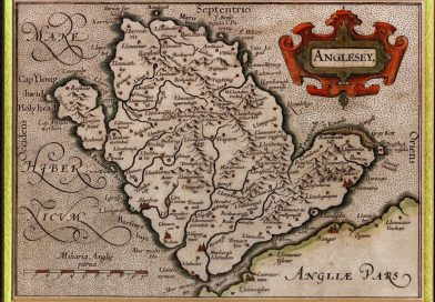 An old map of Anglesey to illustrate it's history